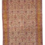 A KIRMAN CARPET, SOUTHEAST PERSIA, CIRCA 1930. Estimate $15-25,000
