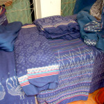 Cotton ikat in Udon Thani