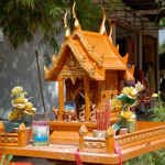 Spirit House; there is one on every property in Thailand
