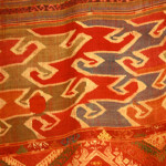 Textile from Patricia Cheesman's collection
