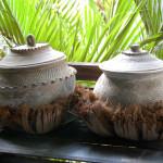 Cooking pots at the Pa-Da Textile Museum