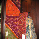 ie-dyed textiles in the collection of Udom Riantrakool, Bangkok