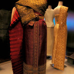Display of the Queen's fashions in QSMT, Bangkok