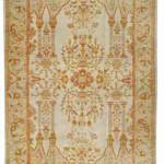 Ushak carpet, west Anatolia, late 19th century Estimate $8000-12,000