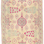 Lot 32, MUGHAL SUMMER CARPET, INDIA, LATE 17TH OR EARLY 18TH CENTURY, EST. £7,000-10,000