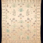 Lot 33, MUGHAL EMBROIDERY, NORTH INDIA, 18TH CENTURY. EST. £5000-8000