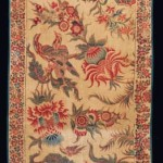 Lot 93. LARGE FRAGMENT FROM A PALAMPORE,  INDIA FOR THE DUTCH MARKET, COROMANDEL COAST, CIRCA 1720. EST. £8,000 - £12,000