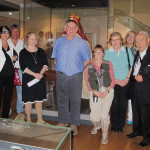 Part of the HALI Tour group and Danny Shaffer at the Ashmolean Museum, Oxford