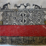 Groin cover, wool and pigment, Nagaland, India, Pitt Rivers Museum, Oxford. 1923.84.745