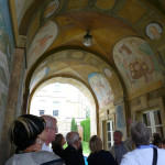 Roger Vlitos, curator of the Faringdon Collection, presents 1930s murals by John Hastings at Buscot Park, Oxfordshire