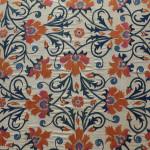 Suzani (detail), Uzbekistan, 19th century, The Burrell Collection, Glasgow