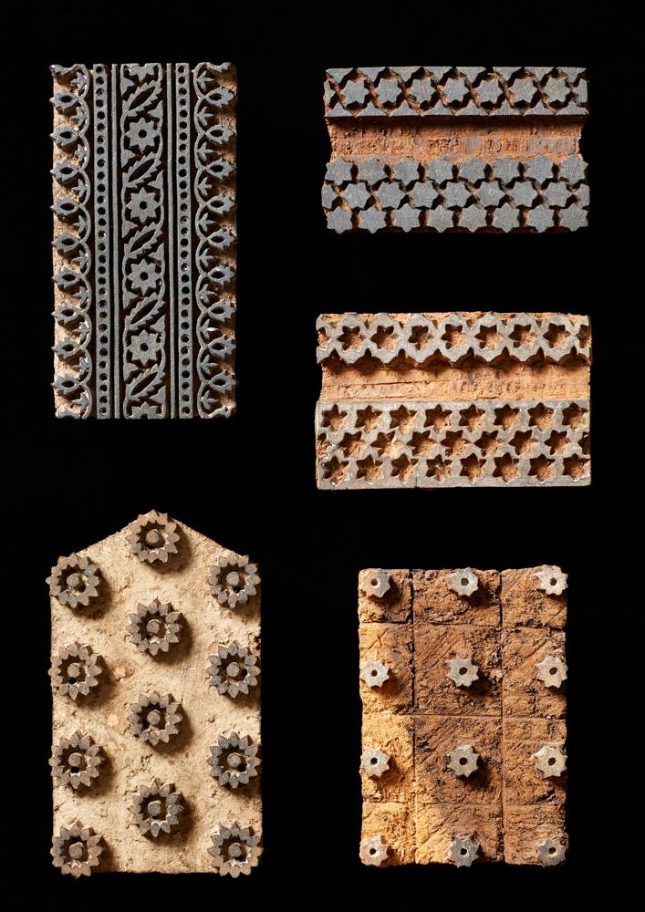 A Selection of Printing Blocks, Sindh, Pakistan, 1980s