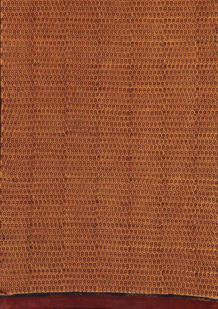 Block-printed length of cloth, Badin, Sindh, Pakistan, 1980s 1
