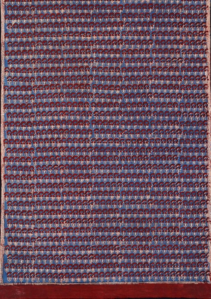 David Collection Block-printed length of cloth, Badin, Sindh, Pakistan, 1980s