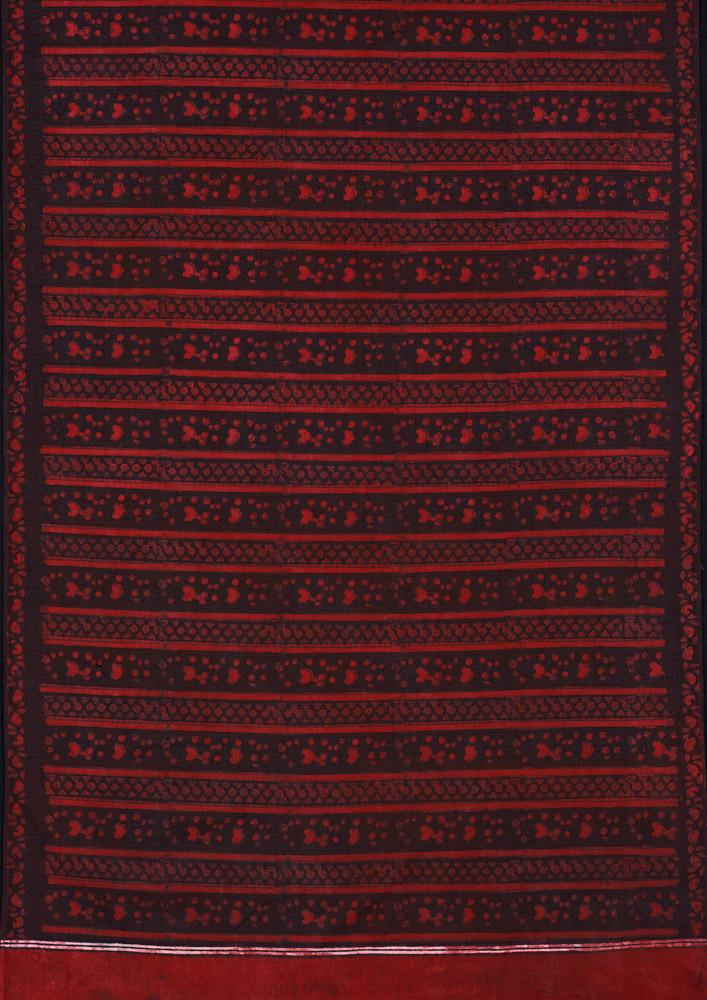 David Collection Block-printed length of cloth, Mithi, Sindh, Pakistan, 1980s 3