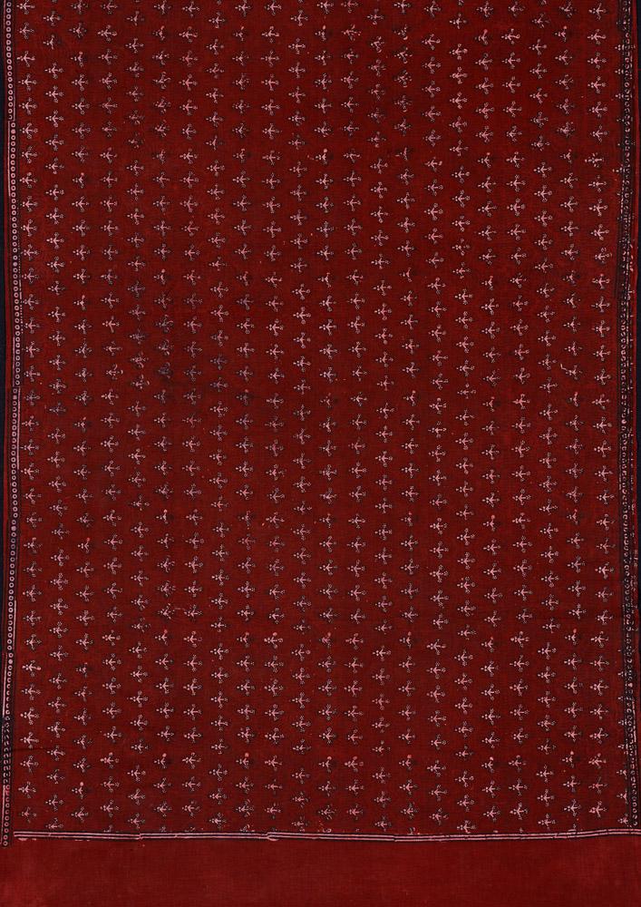 Block-printed length of cloth, Mithi, Sindh, Pakistan, 1980s