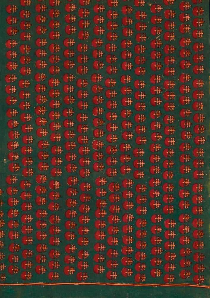 David Collection Block-printed length of cloth, Pipar, Rajasthan, India, 1980s