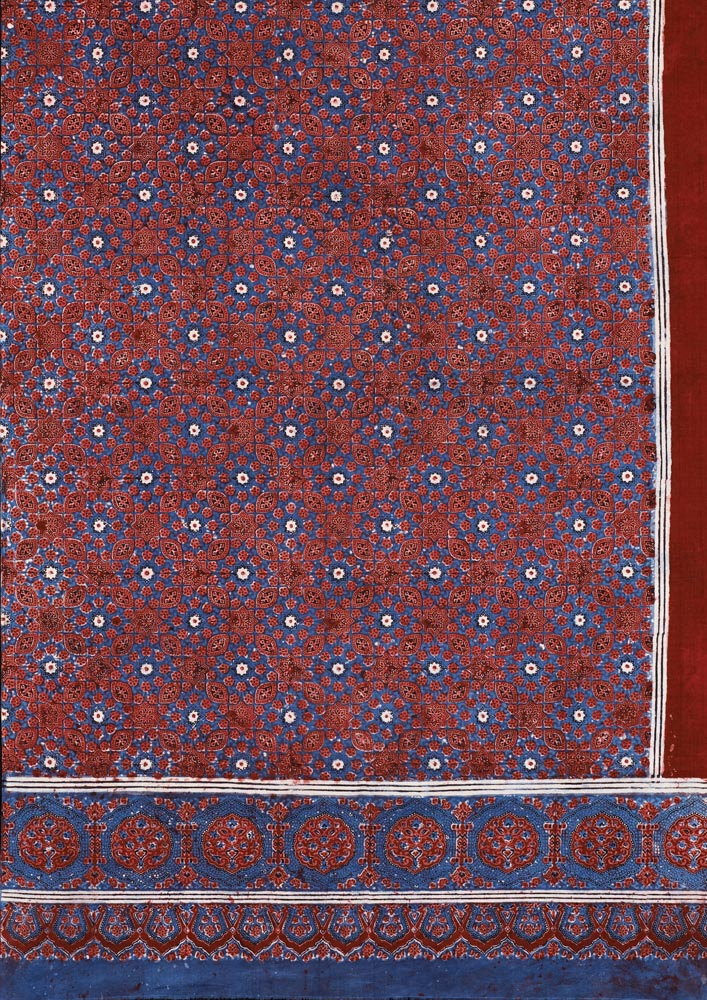 Block-printed length of cloth (ajrakh), Hala, Sindh, Pakistan, 1980s