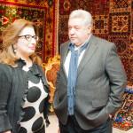 Nigar Akhundova, Humanitarian  adviser and Yuliy Gusman, film producer
