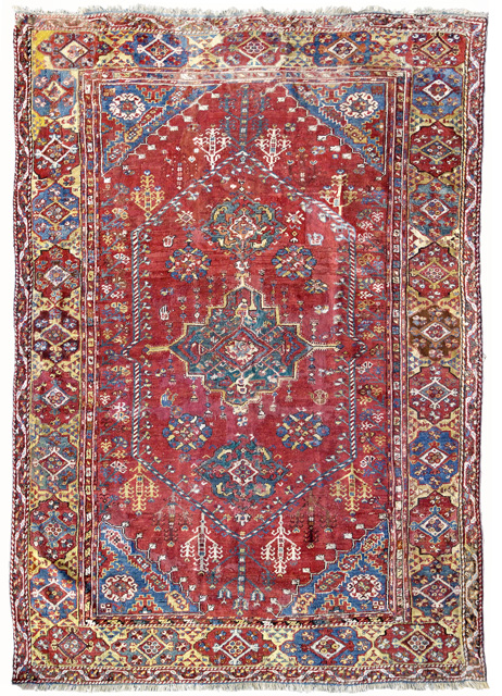 A Menderes Valley village rug, West Anatolia, 18th/19th century.  336 x 204 cm. Estimate €10,000