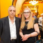 Fazil Gurbanov - Doctorate in the Medical Sciences and Tamilla Ahmadova representative of Heydar Aliyev Foundation in Moscow