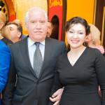 Bakhish Zeynalov and Narmin Shiraliyev - Advisor to the governer of Moscow