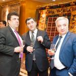 Asef Mehdiyev, Agalar Atamoglanov, Agshin Aliyev - Advisors at the Embassy of Azerbaijan in Moscow