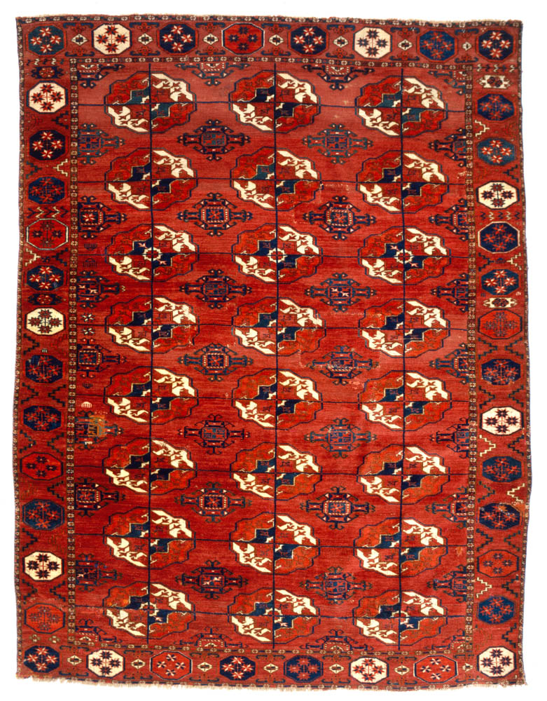 Superb ... 18th Or 19th Century. Wool, 1.58 X 2.06m (5u00272u2033 X 6u00279u2033). Paquin  Collection. See Dodds, Eiland, Et Al., Oriental Rugs From Atlantic  Collections, 1996, ...