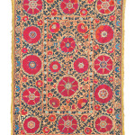 Arts & Textiles of the Islamic and Indian Worlds Lot 209 A SUSANI, UZBEKISTAN, 19TH CENTURY Estimate £4000-6000