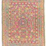 Art of the Islamic and Indian Worlds Lot 154 A FIGURAL EMBROIDERED PANEL, CENTRAL INDIA, CIRCA 1800 Estimate £25,000-35,000
