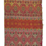 Art of the Islamic and Indian Worlds Lot 195 (detail) A SILK AND METAL-THREAD WOVEN PANEL, MOROCCO, 18TH CENTURY Estimate £5,000-8,000