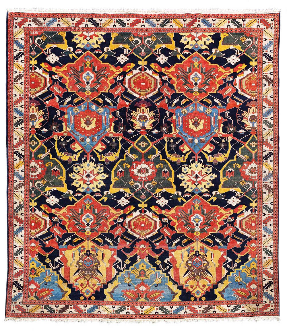 Lot No. 41, Tabriz Petag, Northwest Persia (Iran), c. 430 x 326 cm, about 1940. Estimate € 5,500 - 7,000