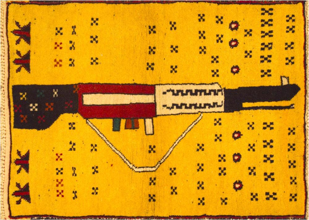 War Rug Kalashnikov