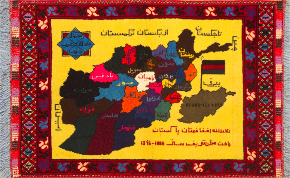 War Rugs From Afghanistan At Mart Hali