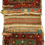 Complete Pile double khorjin (front), Shahsavan, Northwest Persia, Circa 1880, 86 x 36 cm (34 x 14 in.)