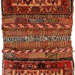 Pile double saddle bag (front), Qashqa'i Confederacy, Qashquli tribe, Southern Persia, Circa 1880, 58 x 27 cm (23 x 11 in.), Edi Egli Collection, St. Gallen