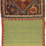 Pile khorjin, Qashqa'i Confederacy, Southern Persia, Circa 1870, 116 x 58 cm (46 x 23 in.), not for sale