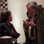 Local tribal art dealer Vicki Shiba Local at the San Francisco Tribal Art Association's 10th anniversary show