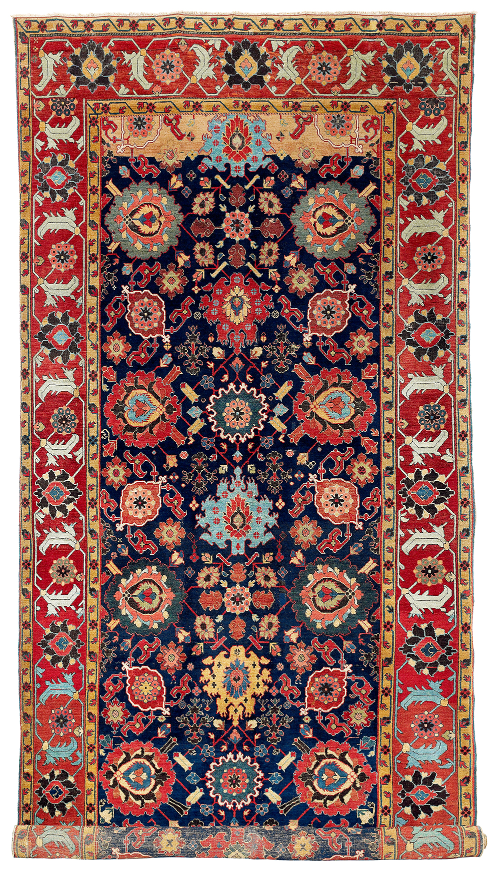 Lot 144, Northwest Persian kelleh, Azerbaijan, 18th century, estimate €70,000