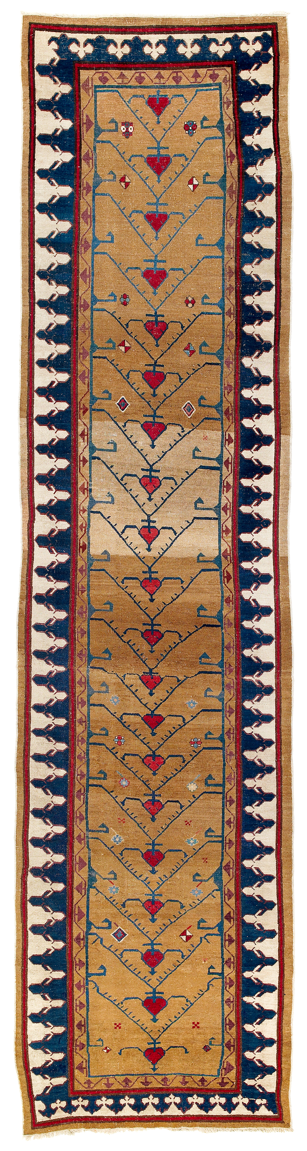 Lot 156, Northwest Persian runner, Azerbaijan, 18th century, 103 x 417 cm, estimate €58,000