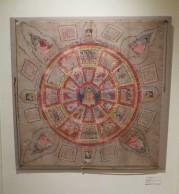 Vicki Shiba's Burmese yanta painting on cloth at at the San Francisco Tribal Art Association's 10th anniversary show