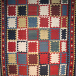 Kilim, late 19th century South-Persia, Fars region, Ghashghai nomads 160 x 283 cm. 100 Kilims, Neiriz Collection, Halle