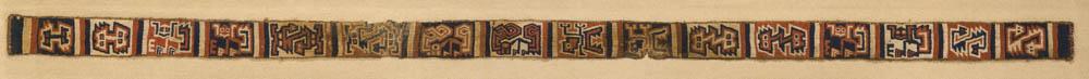 Lot 169 - Recuay Textile Belt, ca. A.D. 300-700