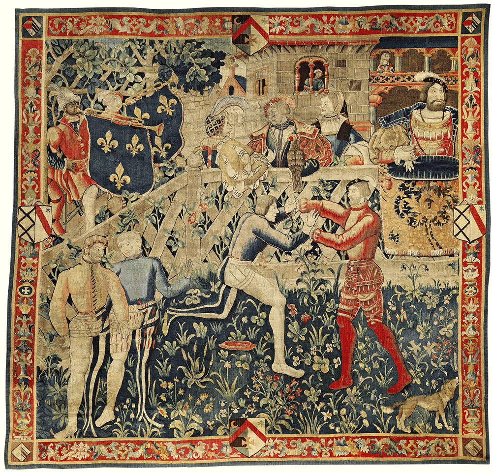 Sotheby's Tournai Tapestry