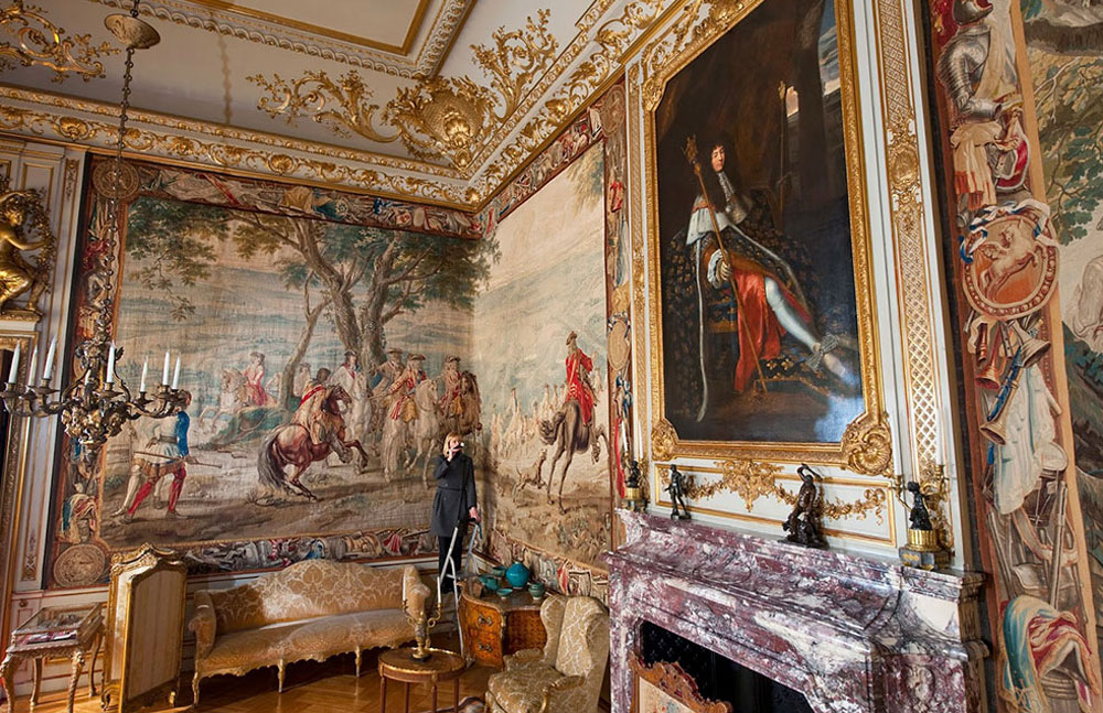 Winston Churchill Tapestries at Blenheim
