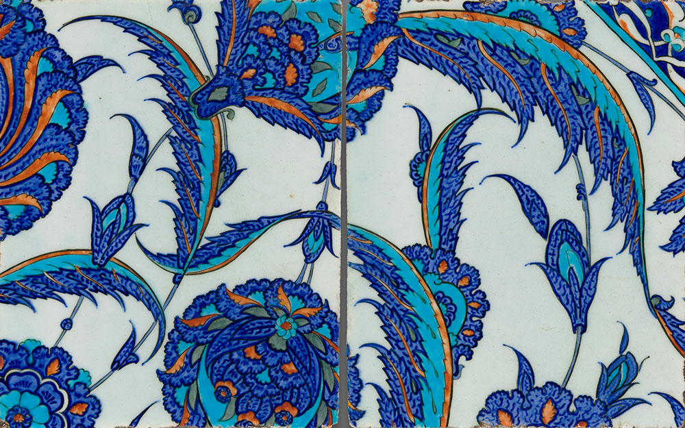 Tiles from the Art Institute of Chicago