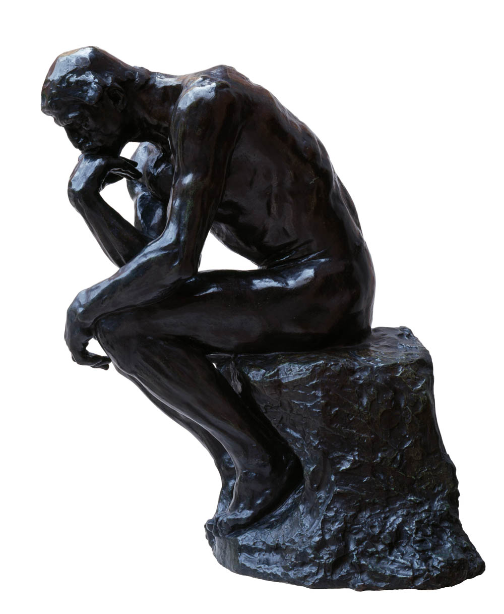 The Thinker by Auguste Rodin, Burrell Collection