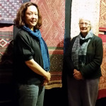 Linda Susan McIntosh, author and scholar on Laotian textiles with Gay Spies, Woven Connections, Samyama