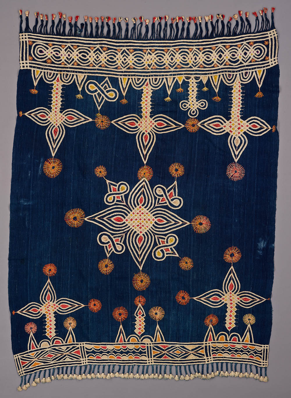 Woman's embroidered shawl