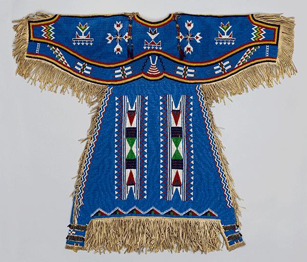 Dress, Plains Indians, Metropolitan Museum of Art
